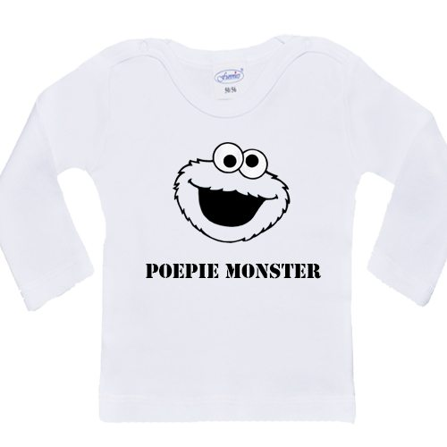 Longsleeve Poepie Monster