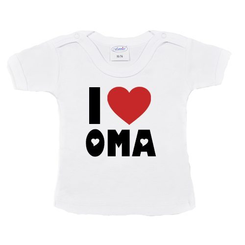 T-shirtje-i-love-oma-wit