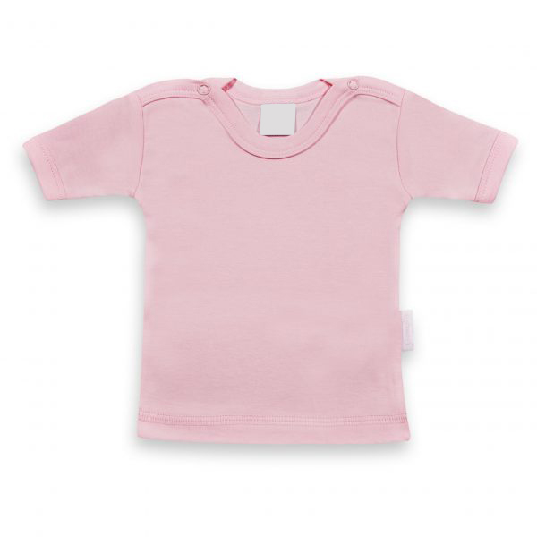 T-shirtje baby roze