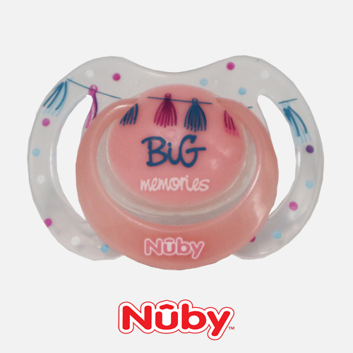Nuby Speentje Roze – Big Moments
